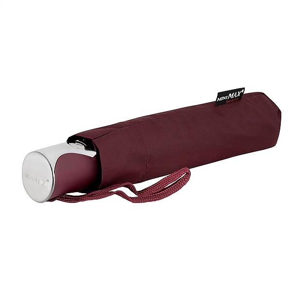 miniMAX® Dámský skládací deštník BOLOGNA vínový