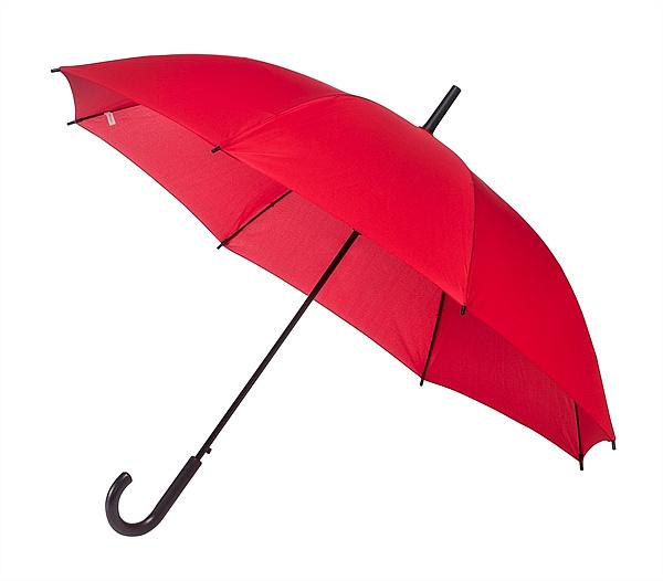 Falconetti® Dámský holový deštník YORK červený