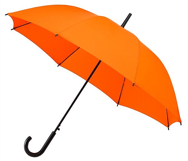 Falconetti® Dámský holový deštník YORK oranžový