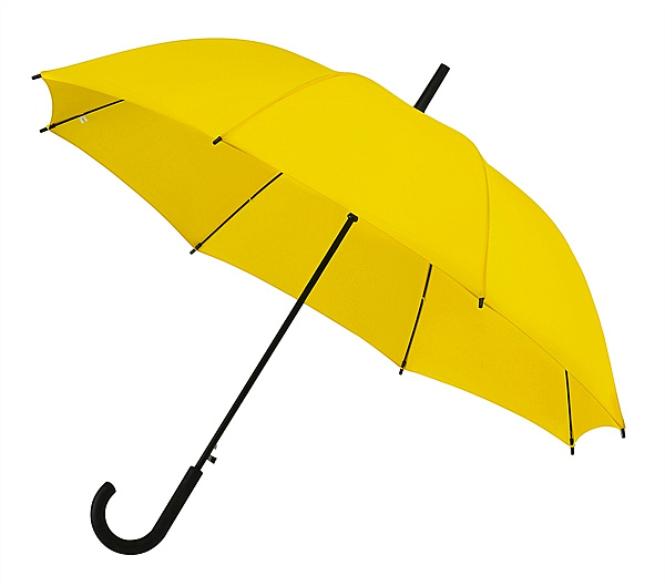 Falconetti® Dámský holový deštník YORK žlutý