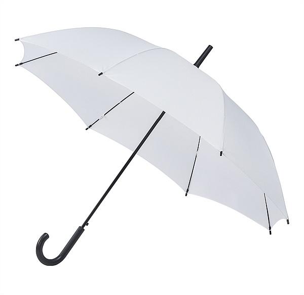 Falconetti® Dámský holový deštník YORK bílý