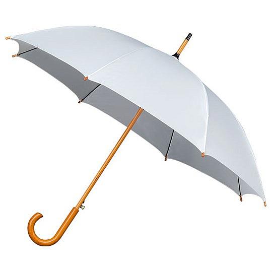 Falcone® Dámský holový deštník AUTOMATIC bílý