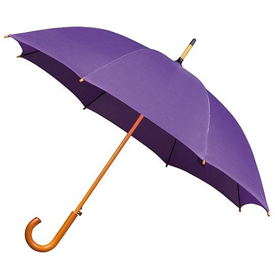 Falcone® Dámský holový deštník AUTOMATIC fialový