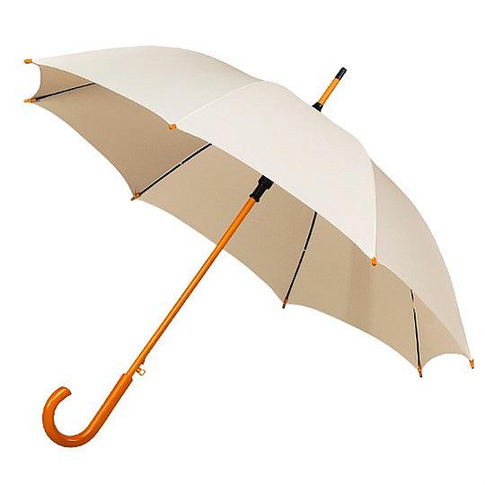 Falcone® Dámský holový deštník AUTOMATIC smetanový