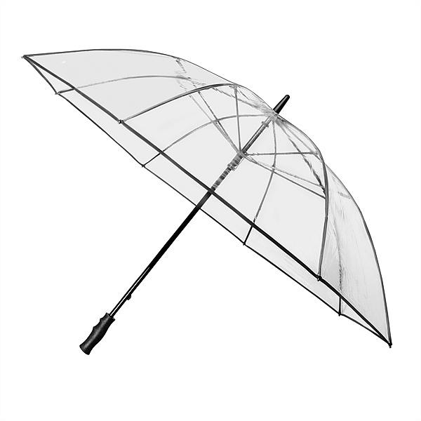 Falcone® Dámský průhledný deštník Clear MAX
