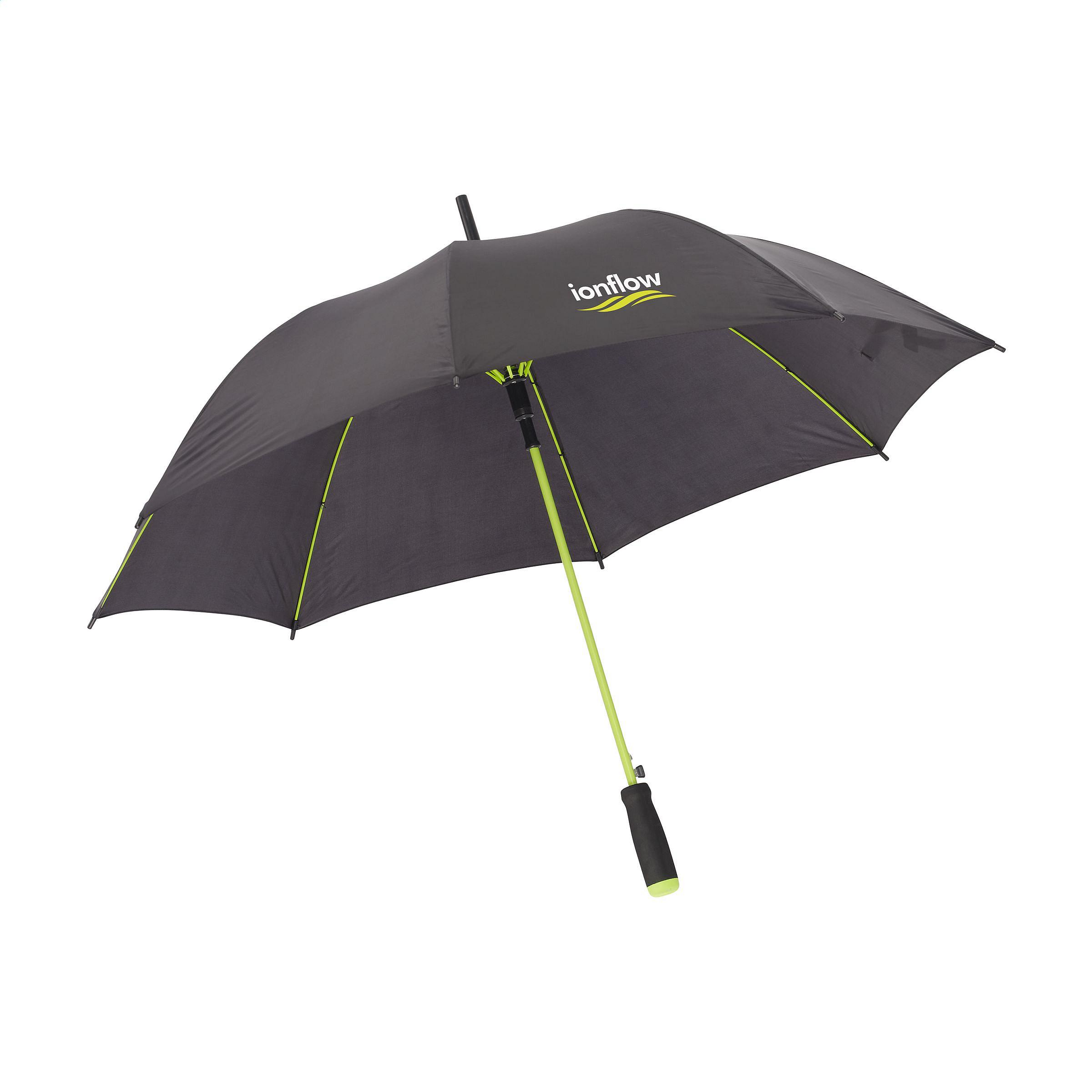ostatní COLORADO holový deštník černo-limetkový