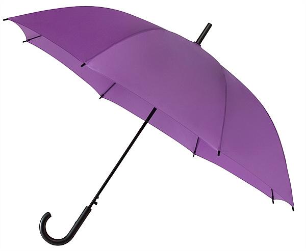 Falconetti® Dámský holový deštník YORK fialový
