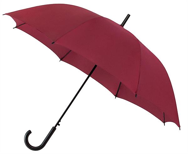 Falconetti® Dámský holový deštník YORK vínový
