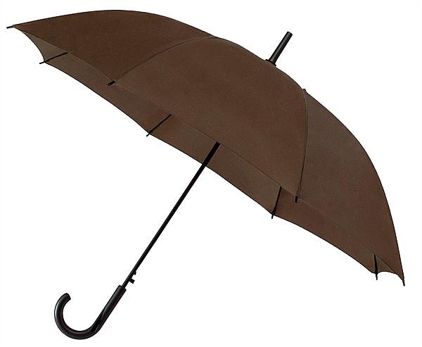 Falconetti® Holový deštník YORK hnědý