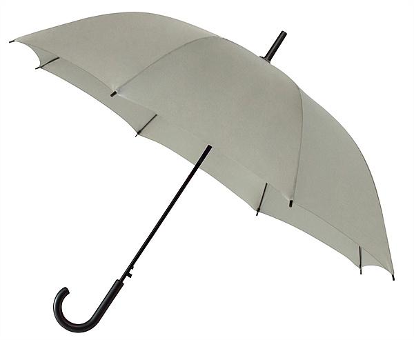 Falconetti® Holový deštník YORK světle šedý