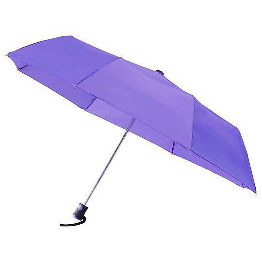 miniMAX® Dámský skládací deštník ROMA fialový