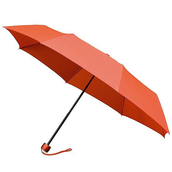 miniMAX® Dámský skládací deštník FASHION oranžový