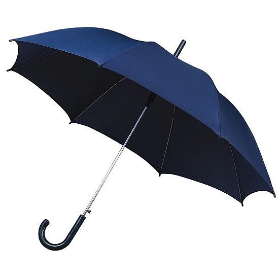 Impliva Holový deštník STANDARD tm.modrý