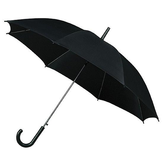 Impliva Holový deštník STANDARD černý