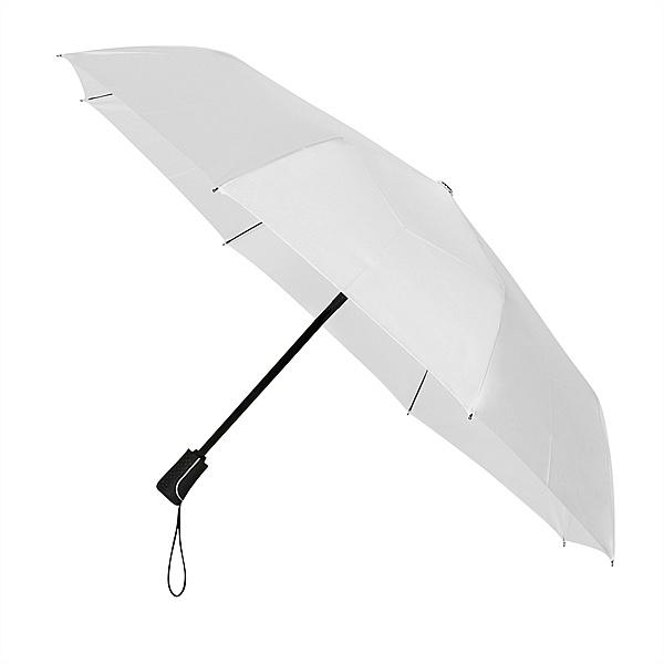 Impliva Dámský skládací deštník BRISTOL bílý