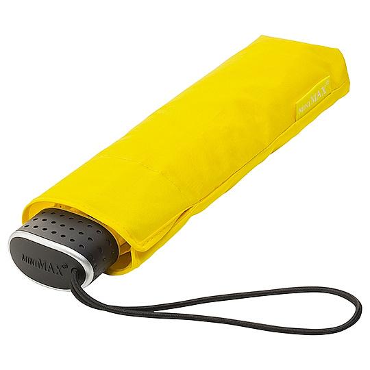 miniMAX® Dámský skládací deštník MALIBU žlutý