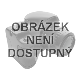 Skládací deštník BRISTOL tm. modrý složený